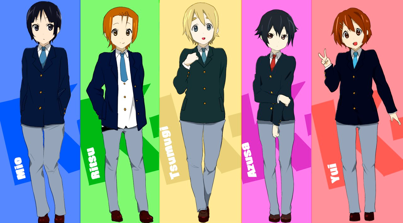 ON! images K-on! genderbent wallpaper ...