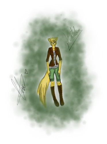 Katelin the coyote- Request for toootie
