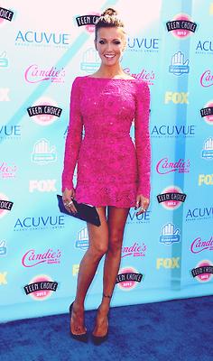 Katie Cassidy attends Teen Choice Awards