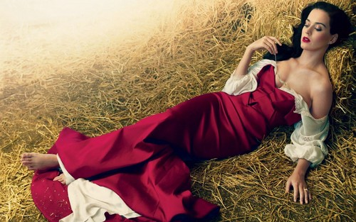 katy perry wallpaper containing a grainfield entitled Katy Perry for Vogue
