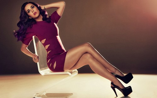 Katy Perry kertas dinding with tights called Katy Perry hot legs