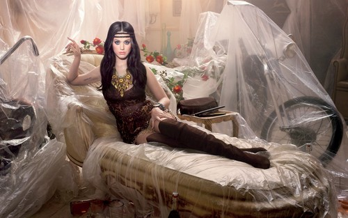 Katy Perry nylon princess