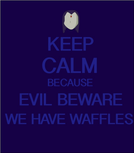 Keep Calm because waffles کے, waffles