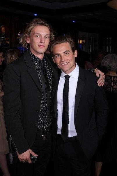 Kevin and Jaime's wedd... Jamie Campbell Bower And Kevin Zegers