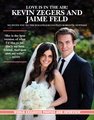 Kevin and Jaime's wedding [magazine scans]