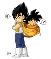 Kid Vegeta and Baby 고쿠