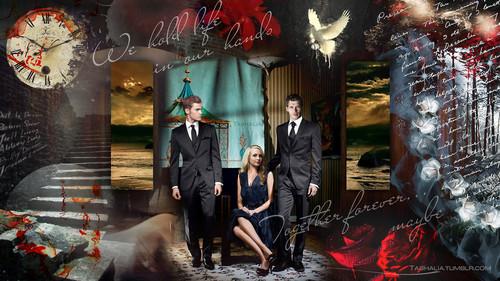 Klaus, Caroline, Stefan
