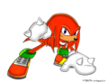 Knuckles The Echidna (SA STYLE) - sonic-the-hedgehog fan art