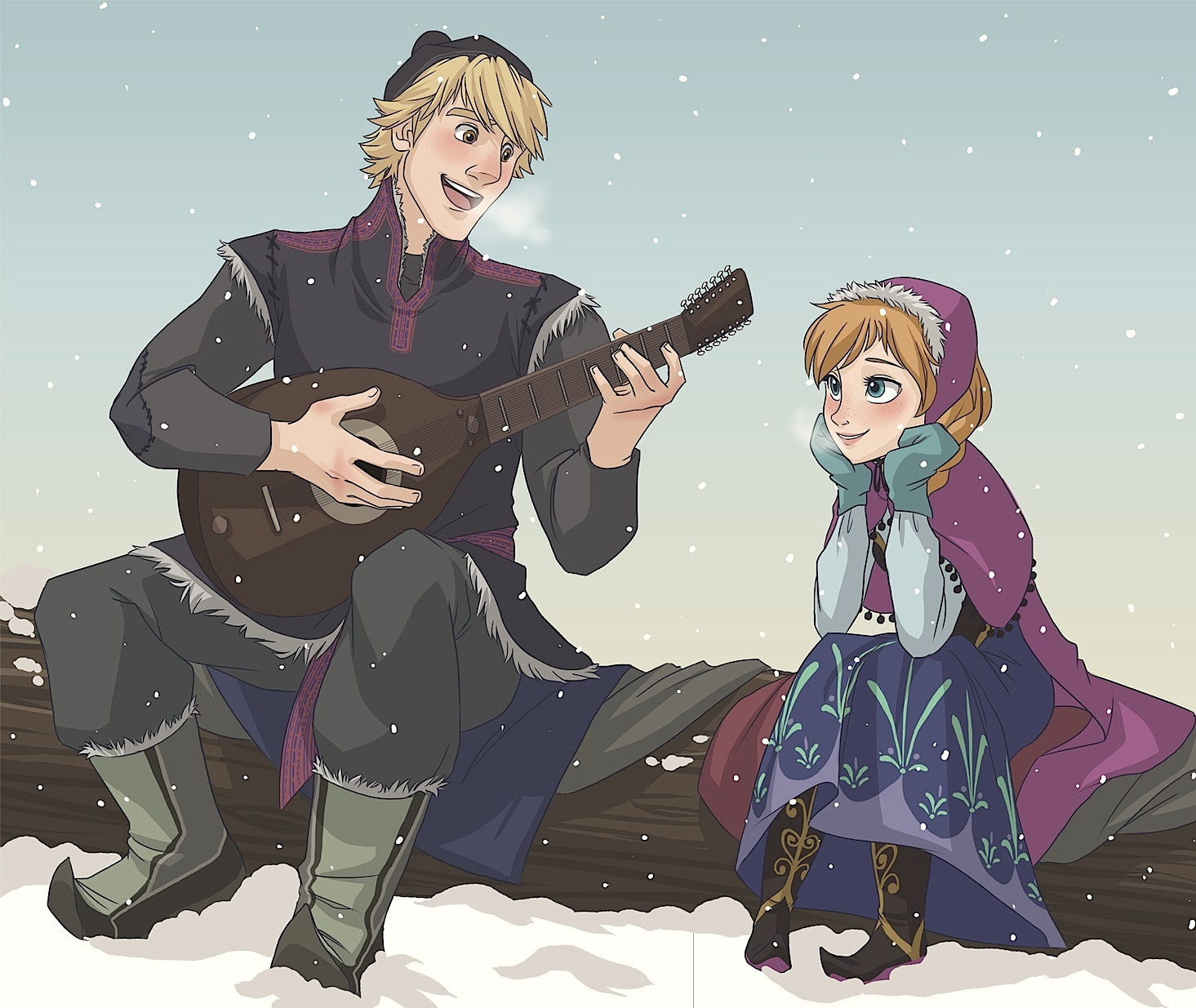 Frozen Pictures of Anna And Kristoff Frozen Kristoff And Anna