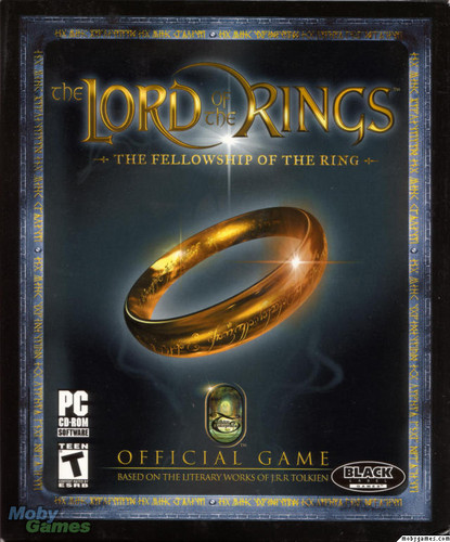 LOTR: Fellowship of the Ring - PC game cover (Front)