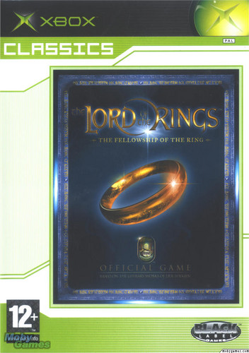 LOTR: Fellowship of the Ring - Xbox game cover (Front)