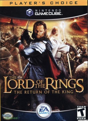 LOTR: Return of the King - Gamecube cover (Front)
