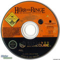 LOTR: Return of the King - Gamecube disc - lord-of-the-rings photo