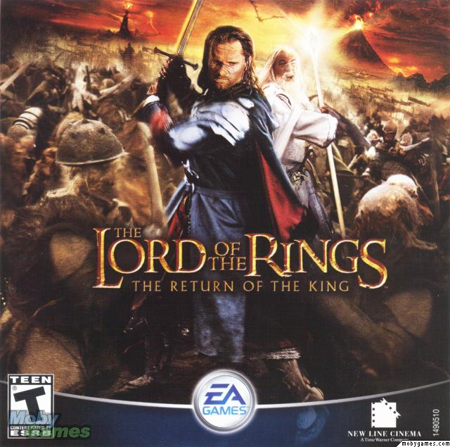 Lord Of Rings Return Of The King Game Book