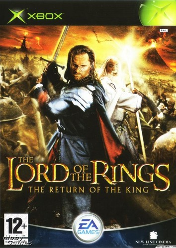 LOTR: Return of the King - Xbox game cover (Front)