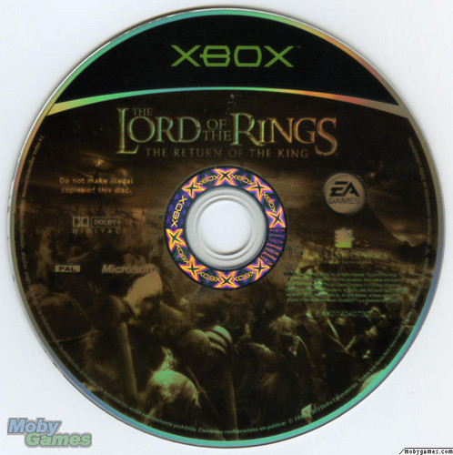 LOTR: Return of the King - Xbox game disc