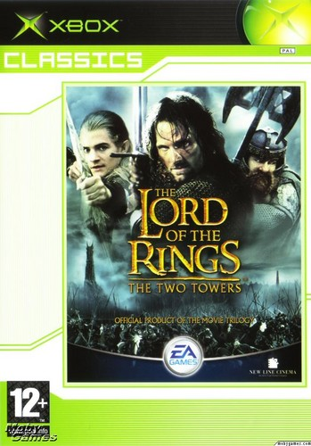 Book Cover Background Xbox : Lord of the rings images lotr two towers xbox game