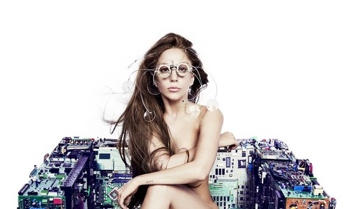 lady gaga wallpaper probably containing skin titled Lady Gaga Applause