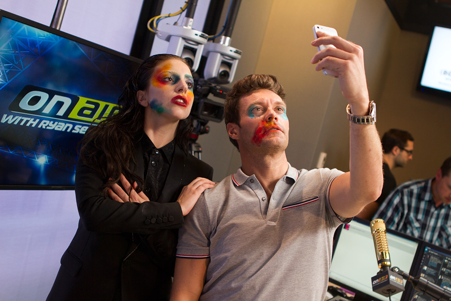 Lady Gaga at 102.7 KIIS FM