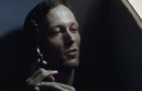 Lars Mikkelsen in the short movie 'Café Hector' (1996)