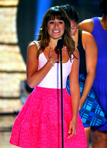Lea giving her Beautiful speech at the 2013 Teen Choice Awards