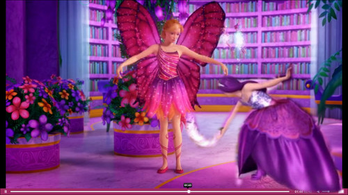 Barbie Movies wallpaper possibly containing a bouquet entitled Let me take care of her dress!