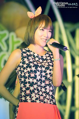 лайм, известь (Hello Venus) - Hwacheon Market Celeb Marketing Pics