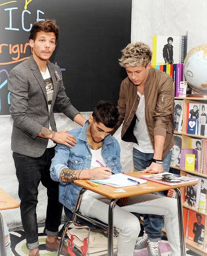 Lou, Zayn & N¡all