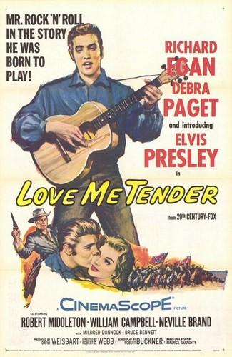 Love Me Tender | Poster ಇ