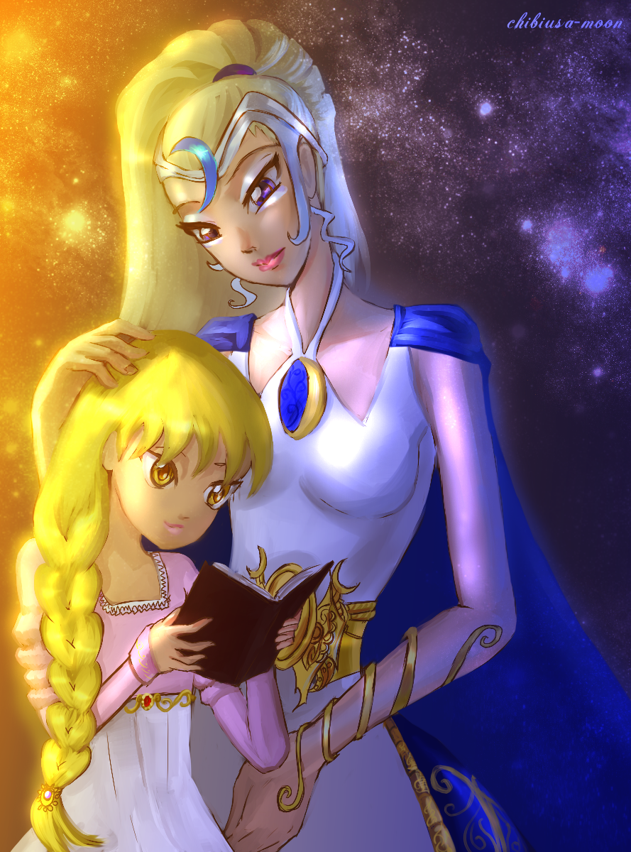 Luna and Stella ♥