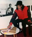 MJ playing toy xylophones!!! National Children's Museum 1990  - michael-jackson photo