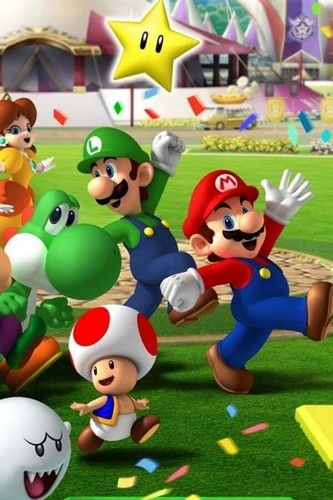 Super Mario Hintergrund titled Mario Party 8