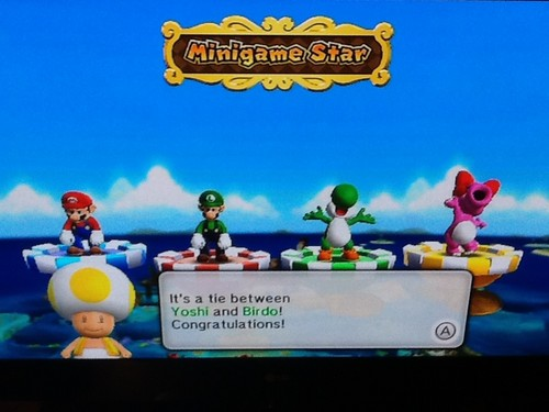 Mario Party 9 - Minigame ster
