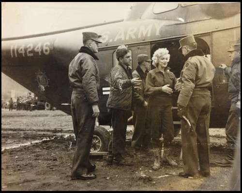 Marylin In North Korea Back In 1954
