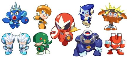 Megaman 壁紙 called Megaman 3 Powered Up~