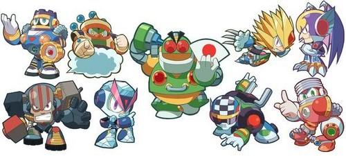 Megaman দেওয়ালপত্র titled Megaman 7 Powered Up~
