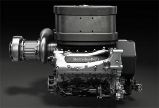 Mercedes f1 engine