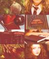 Merida in a Hogwarts AU - merida fan art