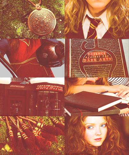Merida in a Hogwarts AU