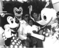 Michael And Emmanuel Lewis At Disneyland - michael-jackson photo