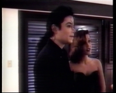 Michael And Lisa Marie On Their Wedding день Back In 1994