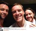 Michael, James & Hugh - james-mcavoy-and-michael-fassbender photo