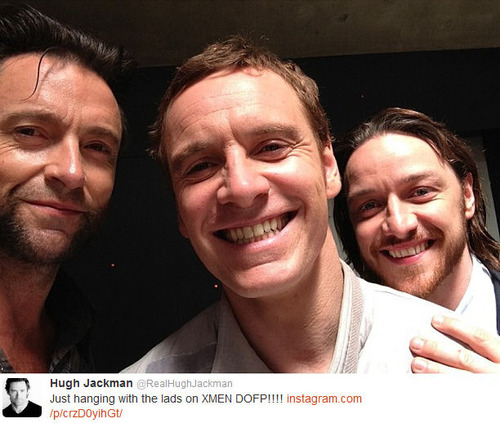 Michael, James & Hugh
