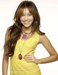 Miley in Yellow !
