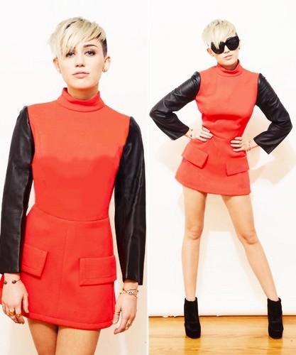 Miley's photoshoots