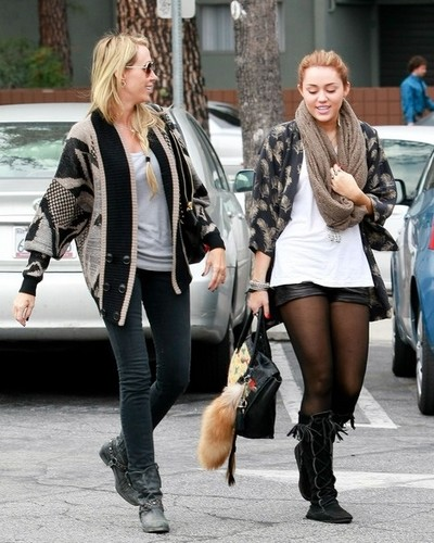 Miley's winter outfits