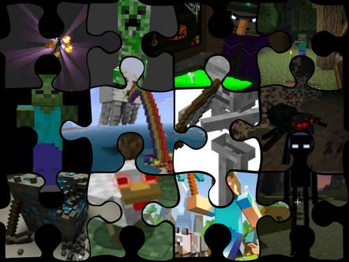 Minecraft collage