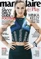 Minka Kelly// Marie Claire Magazine 2013