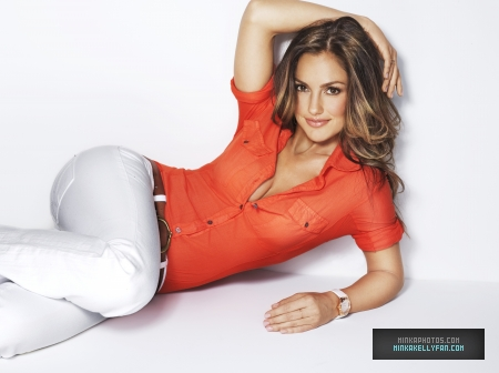 Minka Kelly wallpaper with tights called Minka Kelly