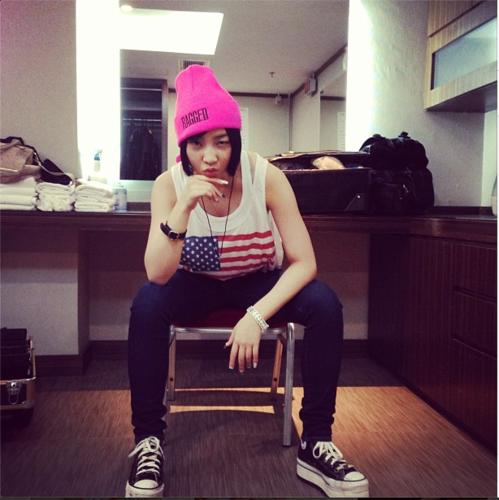 Minzy's Instagram 사진